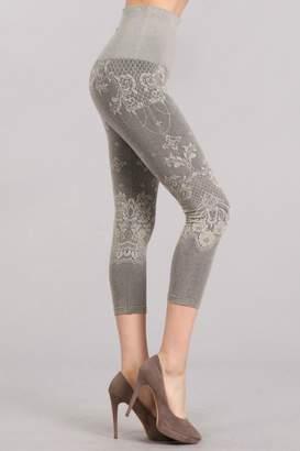 Mrena Grey Crop Leggings
