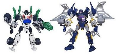 Transformers Construct-Bots Elite Class Wheeljack and Soundwave Buildable