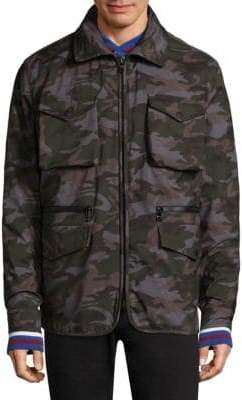 Tommy Hilfiger Down Field Camo Jacket