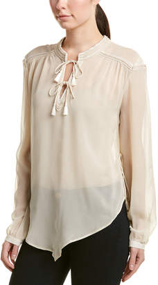 Haute Hippie Goldie Silk Top