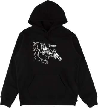 Lee Supreme Hooded Sweatshirt - 'SS 18' - Black