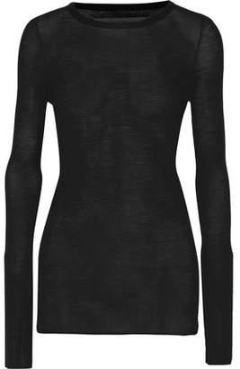 Enza Costa Merino Wool Sweater