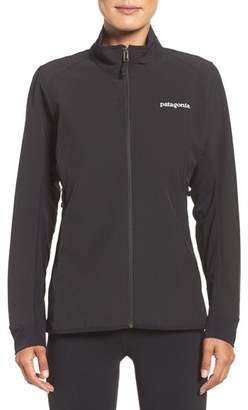 Women's Patagonia Adze Hybrid Water Resistant Jacket $149 thestylecure.com