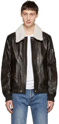Belstaff Brown Arne Leather Jacket