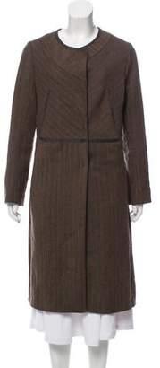 Marni Long Tweed Coat