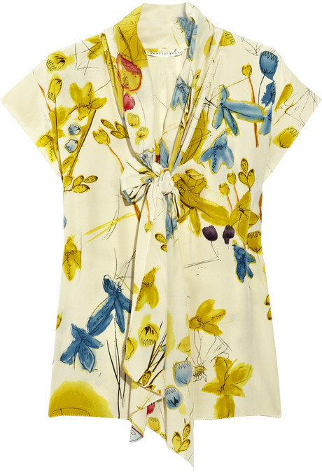 Twenty8Twelve by s.miller Caitlin printed silk blouse