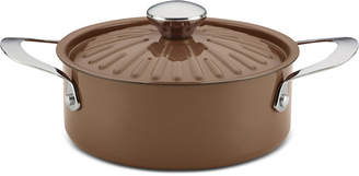 Rachael Ray Cucina Porcelain Enamel Non-Stick 2.5-Qt. Casserole & Lid