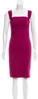 Robert Rodriguez Sleeveless Knee-Length Dress