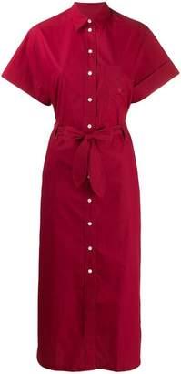 MAISON KITSUNÉ shirt maxi dress