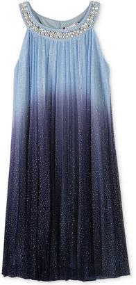 Speechless Jewel-Neck Pleated Dress, Girls (7-16) $84 thestylecure.com