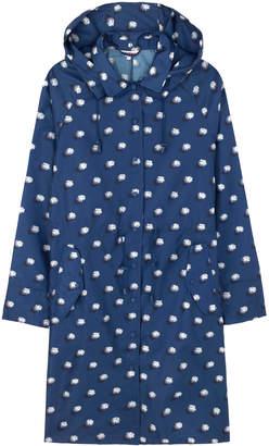 Cath Kidston Pom Pom Spot Long Raincoat In A Bag