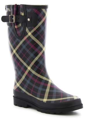 Western Chief Women's Villa Plaid Rain Boot