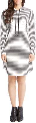 Karen Kane Stripe Hooded Dress