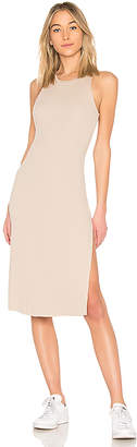 Cotton Citizen Melbourne Tank Midi Dress With Slit
