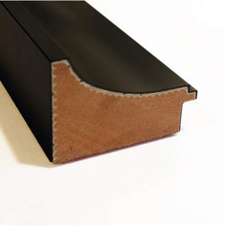 Amanti Art Manteaux Black 28x16 Framed Magnetic Board