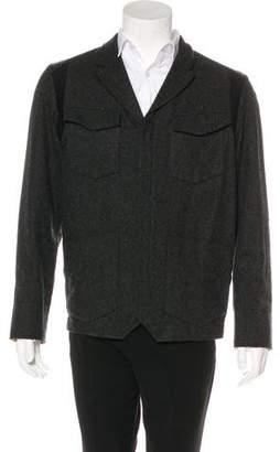 Rogan Notch-Lapel Wool-Blend Jacket