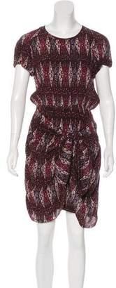 Etoile Isabel Marant Drape-Accented Dress