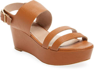 Firth Leather Wedge Sandal
