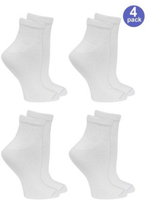 Dr. Scholl's Women's Relaxed Fit Ankle Socks 4 Pack