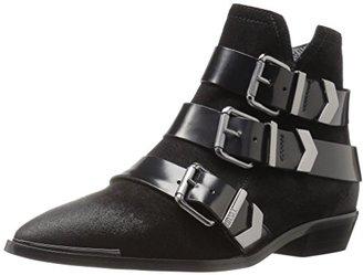 Diesel Women's Mannish D-Enilla Buckle Ankle Bootie $206.94 thestylecure.com