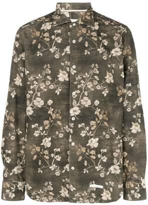 Tintoria Mattei floral long-sleeve shirt