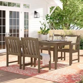 Beachcrest Home Monterry 5 Piece Dining Set