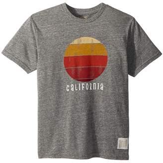 The Original Retro Brand Kids California Sunset Short Sleeve Tri-Blend Tee Boy's T Shirt