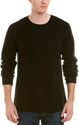 AG Jeans Deklyn Crewneck Wool & Cashmere-Blend Sweater