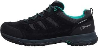 Berghaus Womens Expeditor AQ Ridge Tech Hiking Shoes Dark Blue/Green