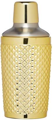 Kitchen Craft BarCraft 300 ml Studded Cocktail Shaker with Gold Finish