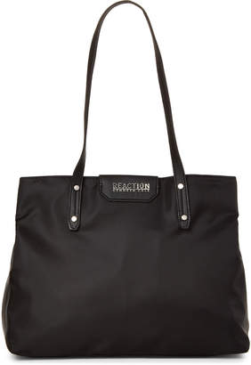 Kenneth Cole Reaction Black Elva Nylon Satchel