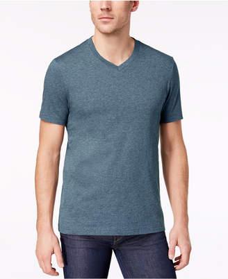 Club Room Men Solid V-Neck T-Shirt