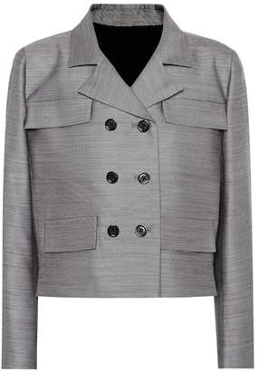 Bottega Veneta Wool and silk jacket