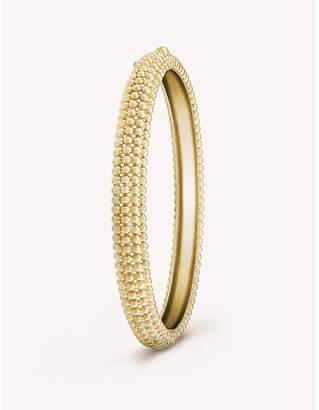 Van Cleef & Arpels Perlee pink gold bracelet medium
