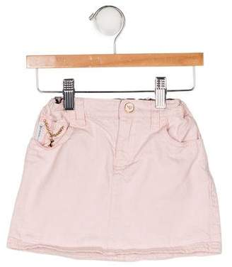 Armani Junior Girls' Textured Skirt