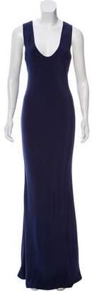 Narciso Rodriguez Sleeveless Evening Dress