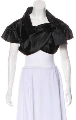 Dolce & Gabbana Satin Short Sleeve Bolero w/ Tags
