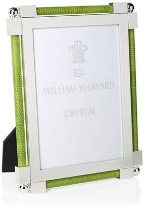 """William Yeoward Classic Shargeen Lime Green 5"""" x 7"""" Frame"""