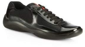 Prada Patent Leather Sneakers