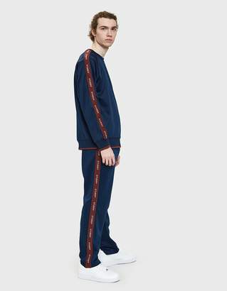 Stussy Poly Track Pant in Navy