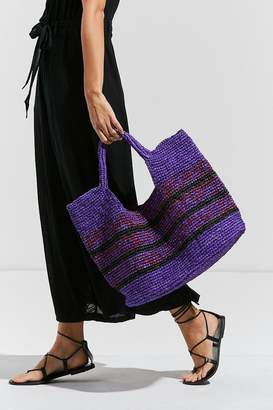 Urban Outfitters Raffia Slouchy Tote Bag