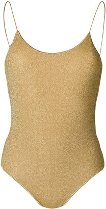Oseree metallic thread swimsuit
