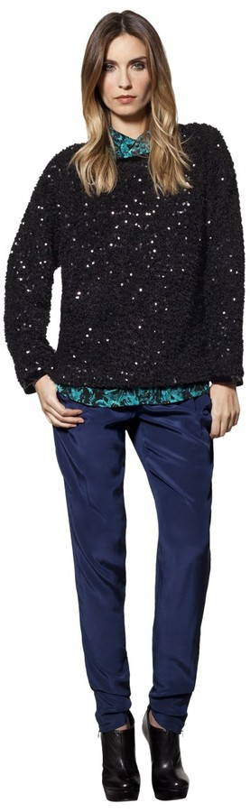 House Of Harlow Sequin Sweater