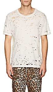 NSF Men's Elliot Distressed Cotton T-Shirt - White