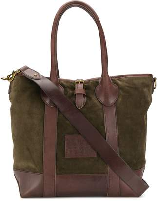 Polo Ralph Lauren burnished trim tote