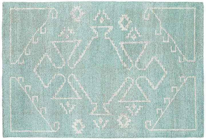 Conner Rug - Mint/Ivory - 4'x6'
