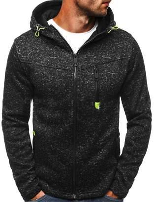 KKairand Winter Hoodie Male Cardigan New Long Sleeve Hoodies Men Zipper Sweatshirt Hoodies