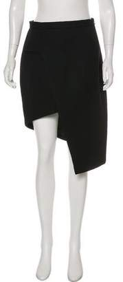 Thierry Mugler Knee-Length Asymmetrical Pencil Skirt