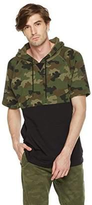 Rebel Canyon Young Men's Short Sleeve Pullover Hoodie Sweatshirt Top (