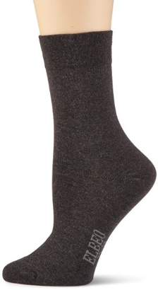 Elbeo Women's Knitted Socks the perfect Trio 905595 Pair, Pack of 3, 100 Denier - Black